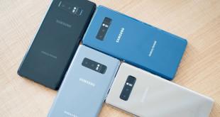 Samsung Galaxy Note8 обновляется до Android 8.0 Oreo